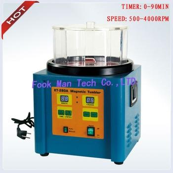 цена на 1100g Capacity Jewelry Machine Goldsmith Tools Magnetic Polisher Ring Polishing Machine