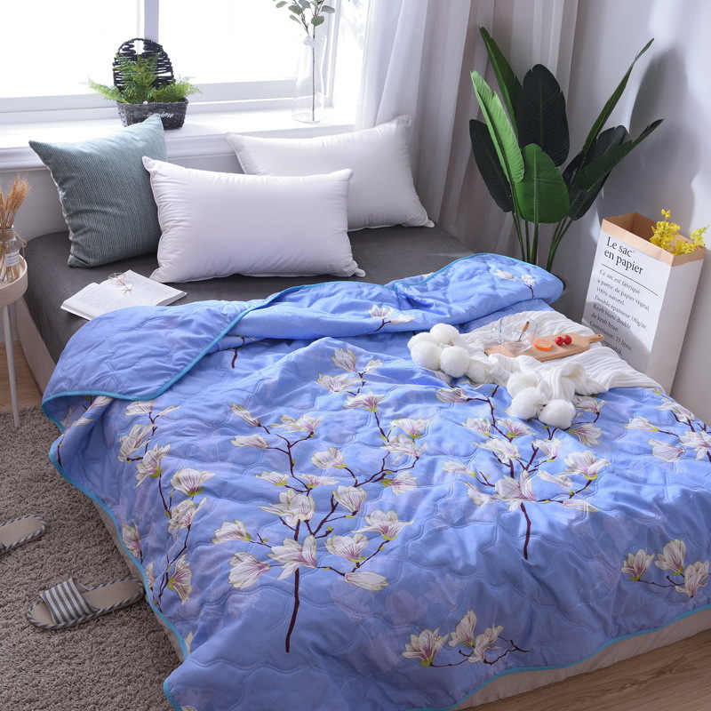 New Arrival Cheap travel Bedspread Summer Quilt Blanket Comforter Bed Cover Quilting Home Textiles Suitable for Adult Children