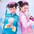 Женщины Китайский Династии Цин Костюм Китайский Традиционный Принцесса Танца Костюм Женский Древний Cheongsam Девушки Qipao Платье 89