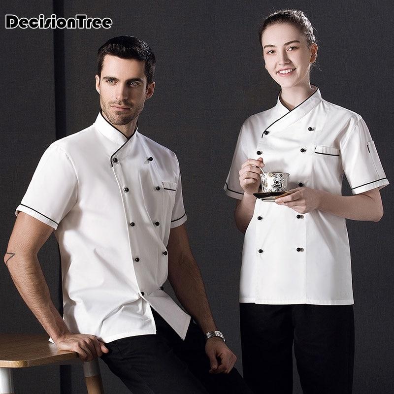 2020 Chef Clothing Unisex Japanese Food Service Clothing Chef Work Uniform Professional Designed Sushi Uniform