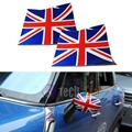 Union Jack UK Flag Vinyl Stickers For Mini Cooper Side Mirrors (Left & Right)