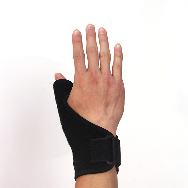 Ourpgone 1Pc Elastic Thumb Wrap Hand Palm Wrist Brace Splint Support Arthritis Pain Sport Training Thumb Fitted Correction