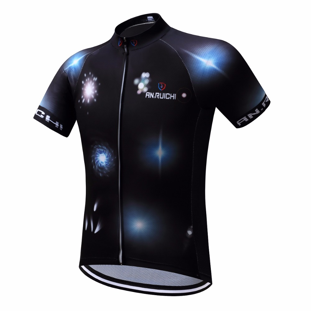 ce22a0ab03c Mysterious Black Men Cycling Jersey 2018 Short Riding Bicycle Cycling  Clothing Men Sport Jerseys Customized/