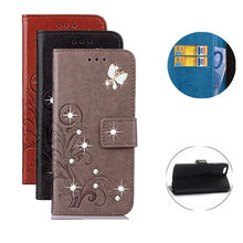 For Asus ZS551KL ZC554KL ZD552KL ZE554KL ZS620KL ZC600KL ZB555KL Glitter Wallet Bling Leather Flip Phone Case Cover(China)