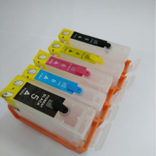 Vilaxh 5Pcs Pgi 5 cli 8 Refillable ink cartridge PGI-5 cli-8 For Canon Pixma iP4200 iP3300 iP3500 iP4300 printer pgi-5bk