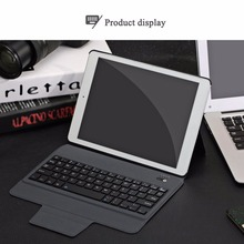 Ultra Thin Wireless Bluetooth V3.0 Keyboard Case Leather Tablet Keyboard Language Layout Customize for iPad Air 1/2/Pro 9.7