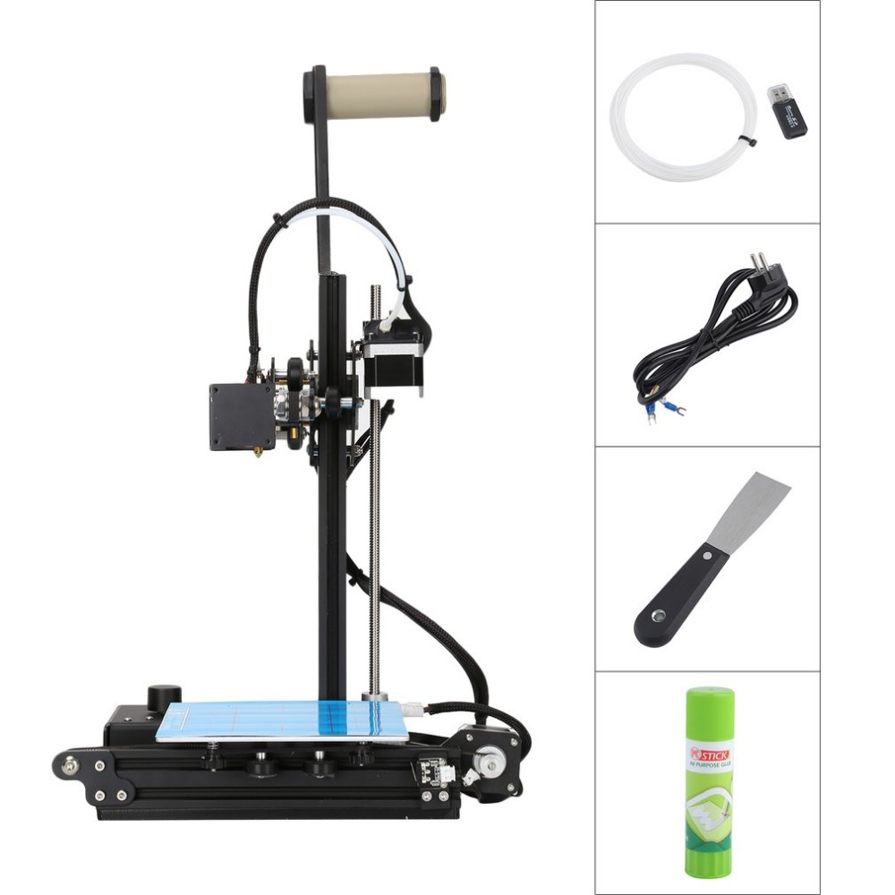 Creality Ender2 3D Drucker Hohe Präzision Große 3D Druck Größe 150x150x200mm LCD 3D Drucker Kit aluminium Rahmen Schiff Von Deutschland