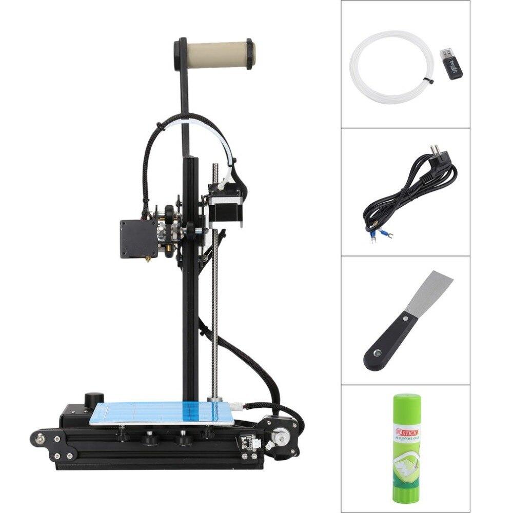 Creality Ender2 3D Imprimante Haute Précision Grand 3D Imprimer Taille 150x150x200mm LCD 3D Drucker Kit cadre en aluminium Bateau En Allemagne