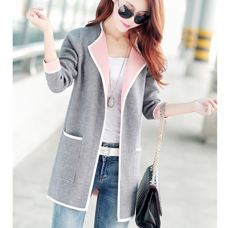 Energetic Women's Clothing Coat Sweater Cardigan For Women Plus Size 2019 New Spring And Autumn Sweaters Korean Style Female Fashion Tops