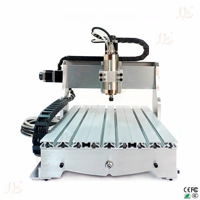 3040 mini CNC router Z-S800 4axis 3D engraving machine cnc wood carving machine with rotation axis horizon elephant 3d printer mini cnc machine carving machine diy cnc router good quality engraving 195x165x45mm with usb cable
