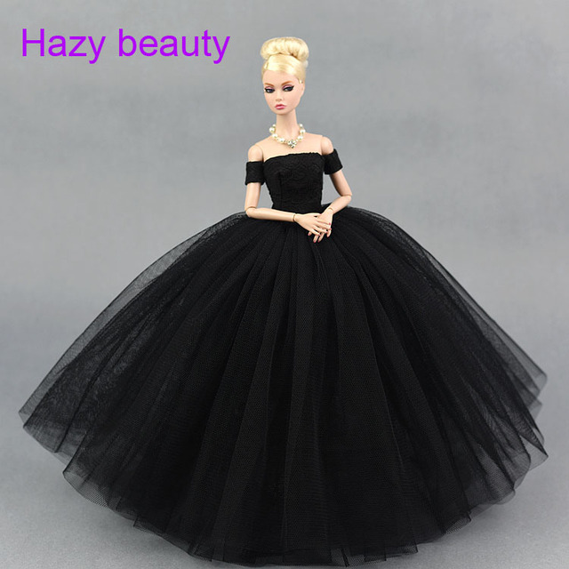 Hazy Beauty Doll Big Dress Black White Pink Dress Clothes Wedding
