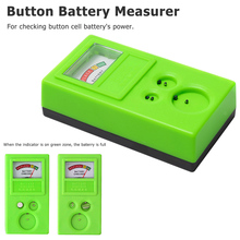 лучшая цена 1.55V /3V  Plastic Button Watch Repair Coin Cell Battery Power Checker Test Tester Tool