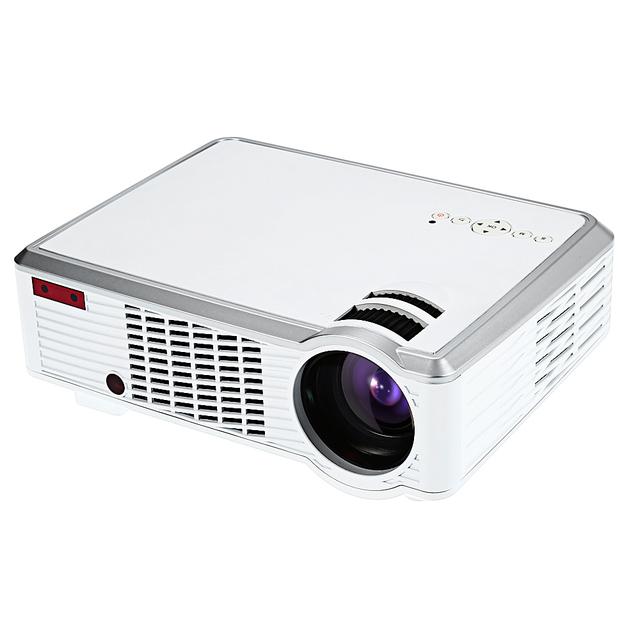 LED-33 Proyector LCD Reproductor Multimedia 2600 Lúmenes 854x540 Píxeles para la Oficina En Casa la Educación de Audio En El Puerto AV DC Puerto HDMI USB VGA