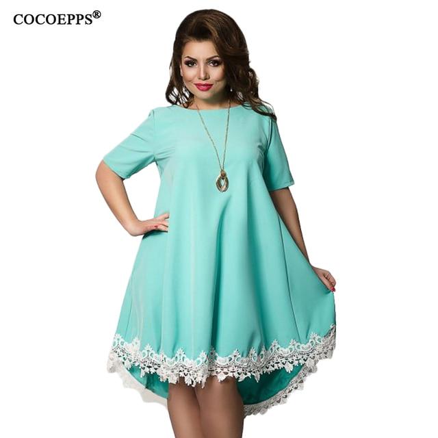Blue dresses for plus size