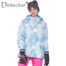 Detector Women Ski Snow Jacket Waterproof Windproof Thermal Coat  Hiking Camping Cycling Winter