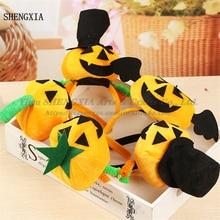 Halloween Pumpkin Ball Headband Masquerade Show Hot Sale Props Cute Funny Pop Festival Hair Accessories Headdress