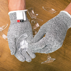 Image 5 - Anti cut Gloves Safety Cut Proof Stab Resistant Stainless Steel Wire Metal Mesh Kitchen Butcher Cut Resistant Safety Gloves
