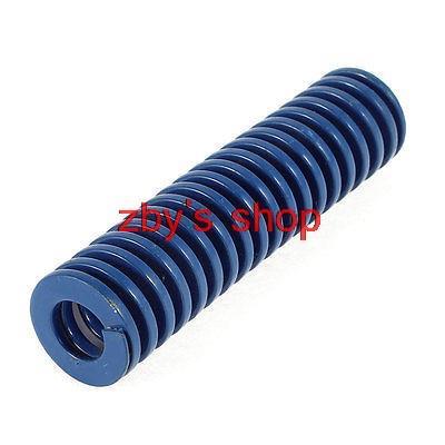 80mm x 20mm x 10mm Blue Metal Spiral Stamping Compression Die Spring free shipping 10pcs 22mm x 11mm x 50mm spiral metal stamping compression die spring