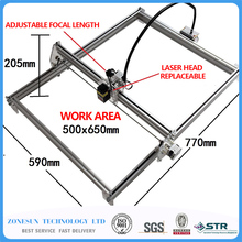 5500MW AS-3 big work area 65*50cm DIY laser mcahine, laser engraving machine,cnc laser machine , advanced toys , best gift
