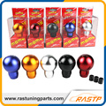 RASTP - MOMO Gear Shift Knob Racing Manual Billet Aluminum With Adapter LS-SFN040