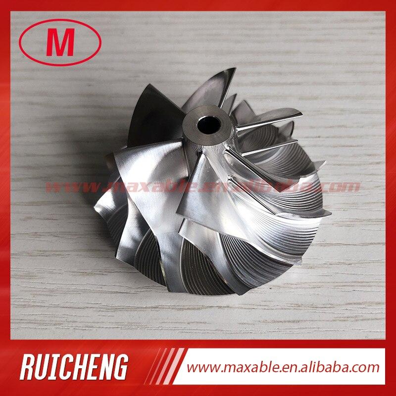 GT15-25 44.39//60.01mm  6+6 Blades performance billet compressor wheel for BMW