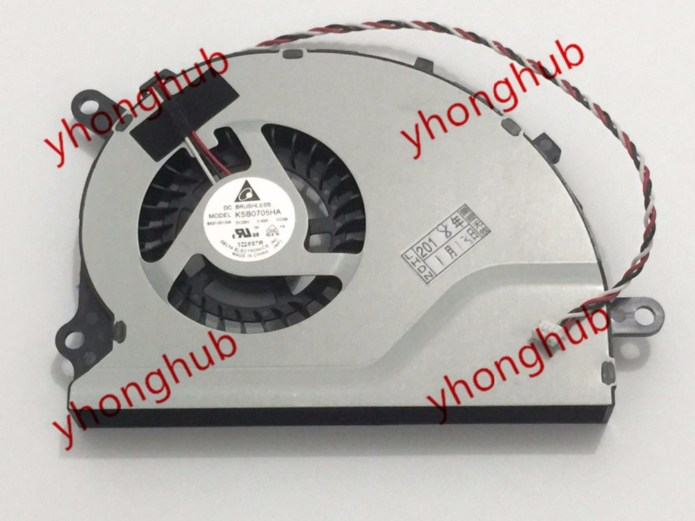 Delta KSB0705HA CD56 Server Laptop Fan DC 5V 0.40A 4 wire delta 12038 12v cooling fan afb1212ehe afb1212he afb1212hhe afb1212le afb1212she afb1212vhe afb1212me