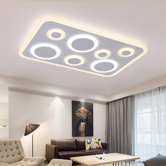 Nuovo design moderno lampadari casa illuminazione lampade per sala ...