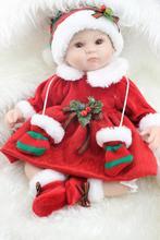 Bebé reborn de 40 cm Feliz Navidad