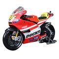 1:18 maisto ducati motor en miniatura de juguete de la aleación diecast racing motocicleta y abs bicicleta modelo de simulación de motocicletas de juguete para niños