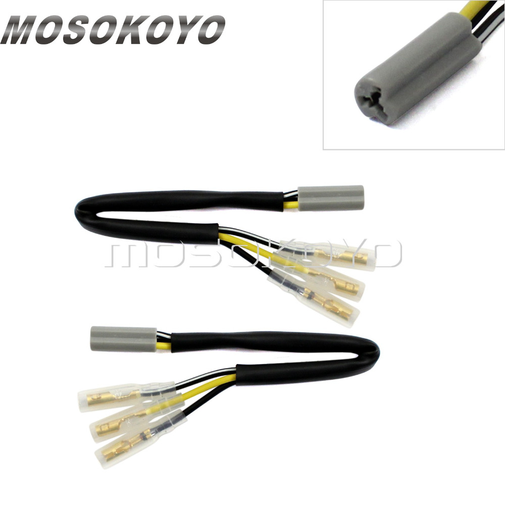 Front Rear OEM Turn Signal Wiring Harness Connectors Wire Plug Cable Lead  for Yamaha YZFR6 R6S R1 FZ10 FZ6 2002 2014 on Aliexpress.com | Alibaba Group