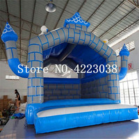 Inflatable Bouncing Castle Bouncy Castle Bouncer Inflatable Castle Kids Baby Inflatable Trampoline Jumping Bed With a Blower