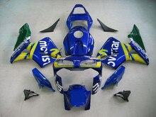 Motorcycle Green+Dack Blue Fairing Kit For HONDA CBR600RR CBR 600RR CBR600 RR 2003-2004 ABS Plastic +4 Gift