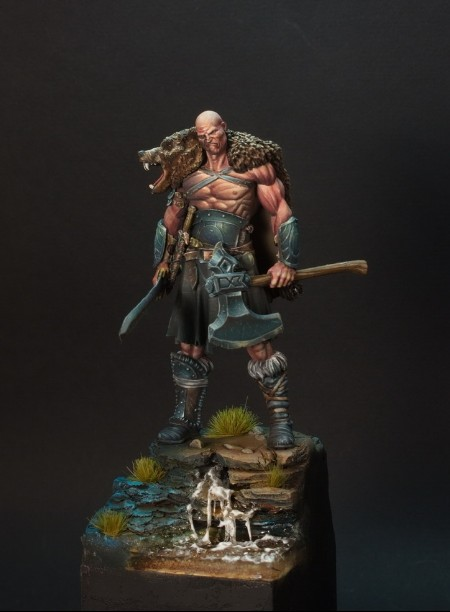 Aliexpress.com : Buy 75mm Scale Fantasy Samurai Unpainted