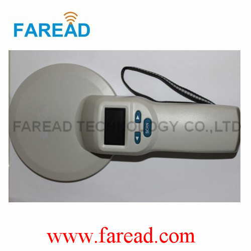 FRD5400 pet scanner 134.2khz 125khz  LF Animal ID portable FDX-A/B ISO11784/5