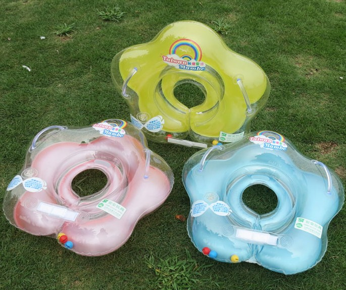 Swimming Pool & Accessories baby Tube Ring baby Gear swimming swim neck ring Safety infantfloat circle bathing Inflatable Drop