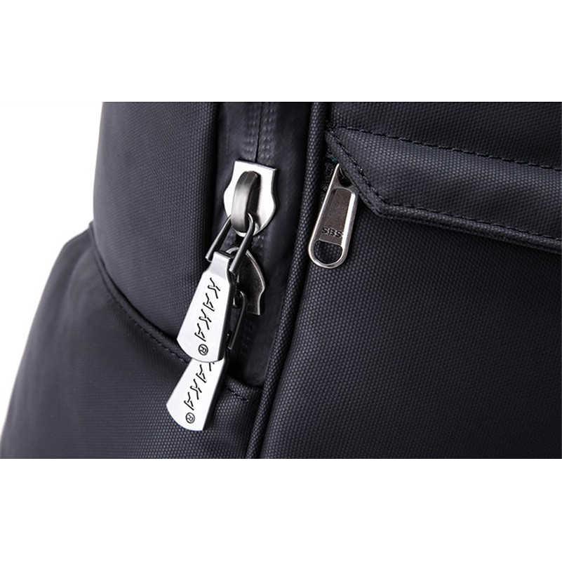 Кака Новый Для мужчин рюкзак европейские и американские прохладный черный Оксфорд компьютер рюкзак студент школьная сумка свет мужской сумка D148