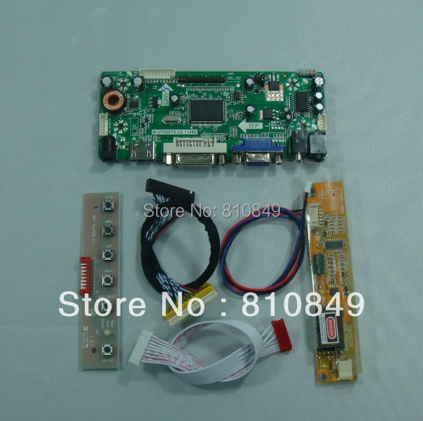 HDMI+VGA+DVI+Audio LCD controller board for 17inch B170PW03 1440*900 lcd panel