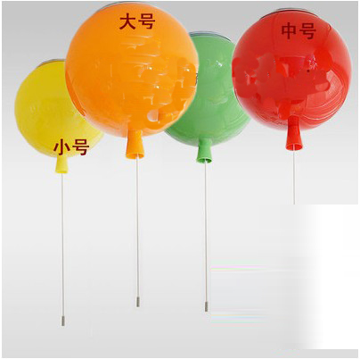 Personalized balloon light led ceiling living room bedroom round cartoon children light room simple decoration CL toy fish balloon children toy cartoon balloon wholesale