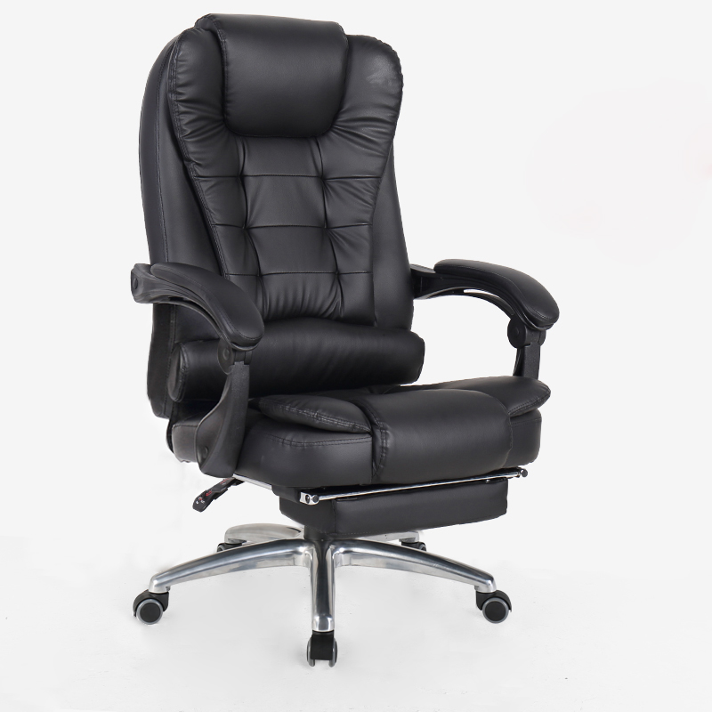 Leather Computer Chair Home Cowhide Office Chair Swivel Lifting Gaming Chair Reclining Silla Oficina Cadeira Gamer Silla Gamer