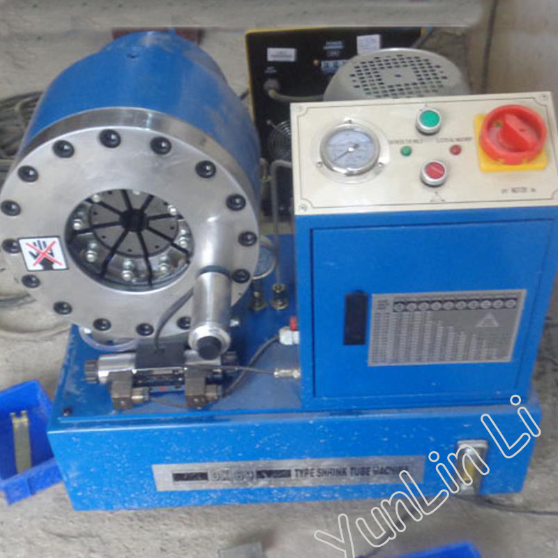 Hydraulic Crimping Machine Shipping by Sea DX-69 Tube pressing machine Withholding machine Greenhouse shrinking machine