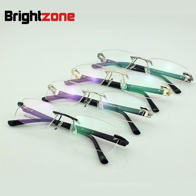 c689964607 Hombres anteojos recetados diseñador marco optiacl plástico templos gafas  rx-capaces jiong 8864