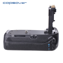Capsaver вертикальный Батарейная ручка для Canon EOS 70D 80d DSLR Камера заменить BG-E14 Multi-Мощность Батарея держатель работать с LP-E6