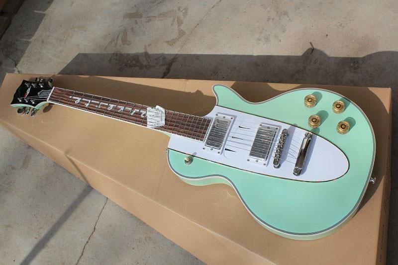 New Factory Custom Shop 1960 Corvette Rosewood fingerboard green electric guitar