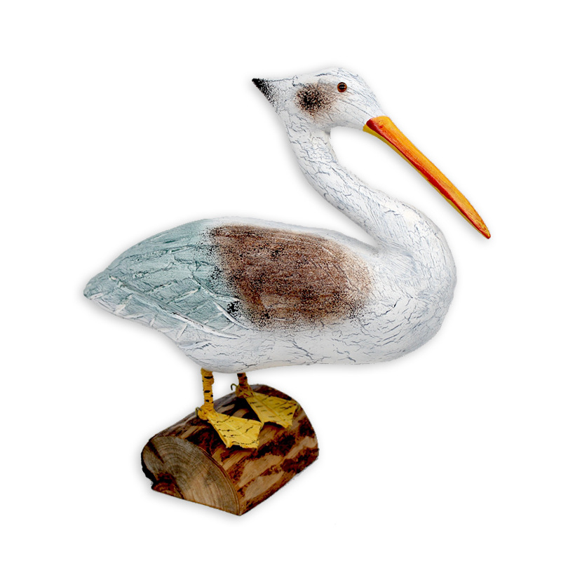 Nordic Simple <font><b>Seabird</b></font> Ornaments Creative <font><b>Wooden</b></font> Crafts New Year'S Gifts Home Living Room Desktop Decoration Accessories Figurine image