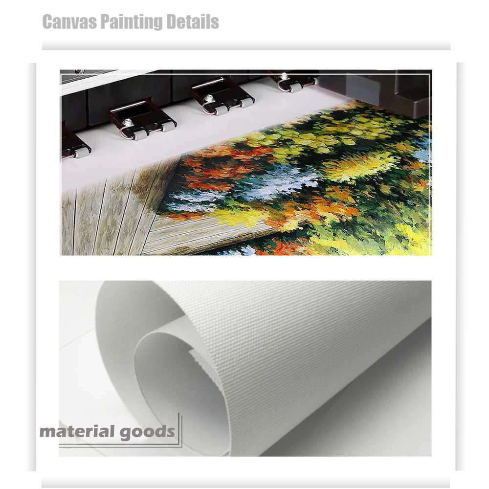 WANGART Декоративные плакаты современные настенные принты для художественных холстов карта с губ цветок Картина маслом настенные картины для гостиной Unframe