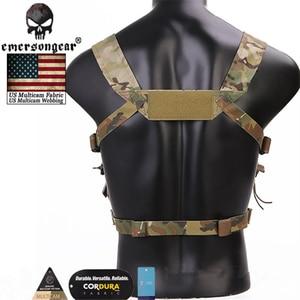 Image 4 - אמרסון מארז MK3 מיני טקטי החזה ספיריטוס ארומטיים Airsoft ציד Vest ריינג ר ירוק צבאי טקטי Vest w/מגזין פאוץ