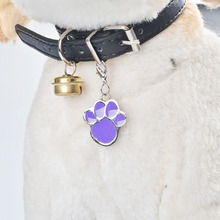 10Pcs=1Lot wholesale Identity Card Stainless Steel Pet Pendant Necklace Pet Cat Jewelry Anti-lost Frame Dog Tag Accessories