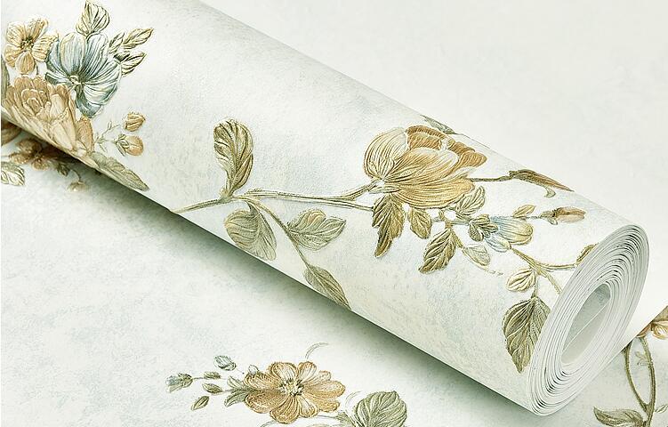 papel de parede floral papel de parede