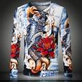 Nuevo 2015 Moda Invierno Cálido v-cuello de Manga Larga de Otoño Casual Jerseys Hombre Jersey De Punto Suéteres de Gran Tamaño Al Aire Libre Masculino 3xl