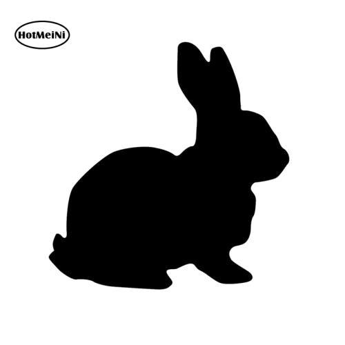 Professionele uitruisting Thumper Animal Rabbit Car Truck Bumper Laptop JDM Fun 6 Vinyl Decal Sticker